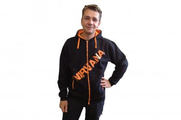 Nirvana full zip Sweat Shirt SPORT, with hood - S size